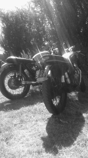 Triumph British Rocker Bikes Blackandwhite Black And White Black Dark Shadow Nopeople Dreaming Shades Of Grey Relaxing Hello World Sunbeam Beautiful Class Classic Classy Grunge Classic Style Beauty Art Happy Hanging Out