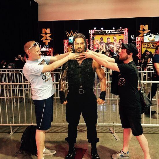BREAKING: @wwe Roman Reigs at Wrestlemania Axxess