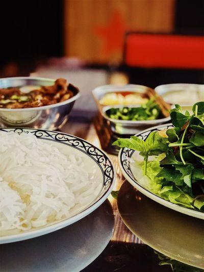 Food And Drink Food Vegetable Freshness Salad Close-up Healthy Eating Vietnamese Food Buncha Noodles