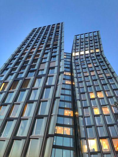 Tanzende Türme Hamburg Architecture Glass - Material Building Tower