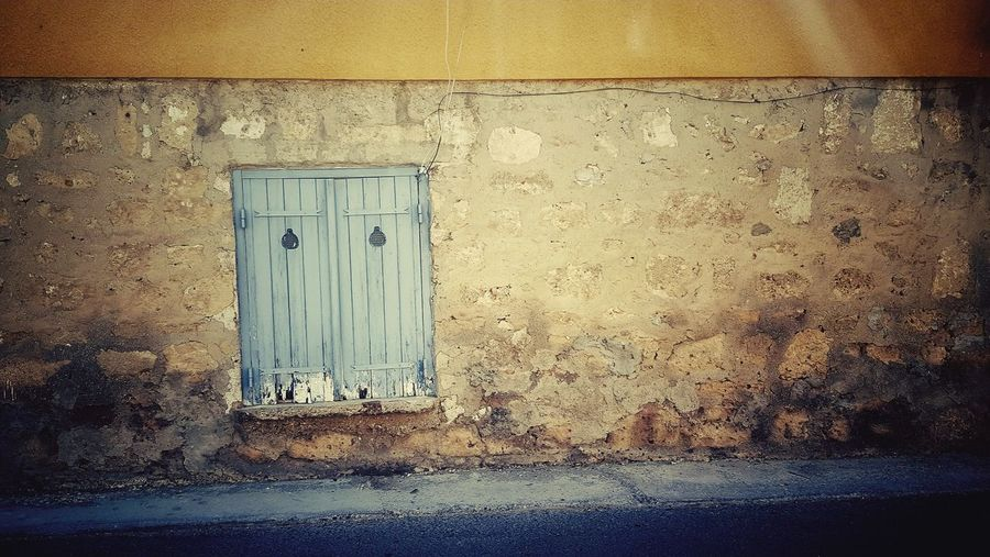 The Old Doors of Cyprus Old Buildings Old-fashioned Old Town Old Doorway Doors Pair Old Buildings Door Textured  Close-up Architecture Built Structure Closed Door Wall Worn Out Peeled Entry