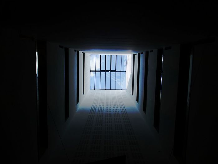 Architecture Built Structure Day High Above Indoors  No People Roof Window Shaft Window