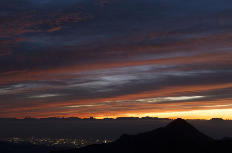 Shibu Pass Sunset