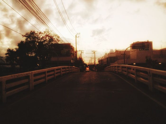 morning time City Tree Sunset Sky Architecture Cloud - Sky Footbridge Cable-stayed Bridge Bridge