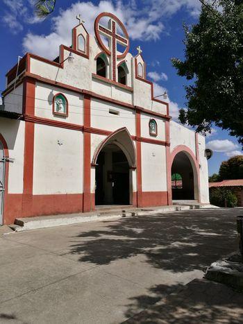 Arch Architecture Building Exterior Built Structure Outdoors No People Day Clock El Salvador. El Salvador Impresionante EL SALVADOR 503 Tacuba Ahuachapan