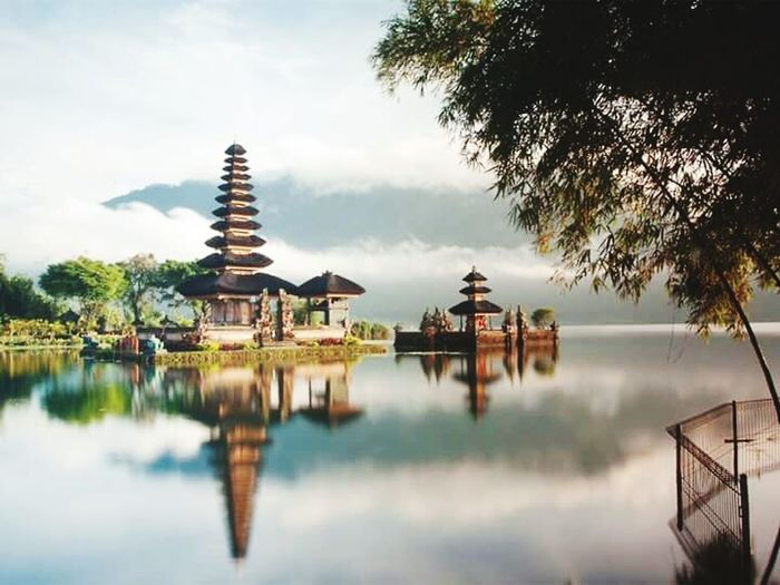 Danau Bratan Bali Lake Bratan Indonesia_photography Reflection Tropical Climate Travel Destinations Bali, Indonesia Sea And Sky Temple Architecture Architecture Nature Tree Beauty In Nature Rock - Object Welcome To My World Eyem Best Shot - My World Beach Aerial View Bali Island