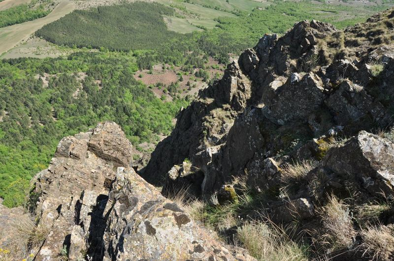 Rocks on landscape