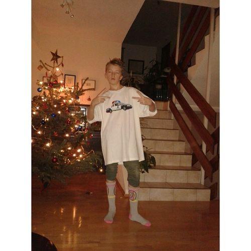 Noël c'était trop génial Chaussetes Tshirt Sapindeno ël
