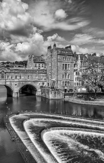 Pulteney Bridge, Bath Bath Pulteney Bridge England United Kingdom