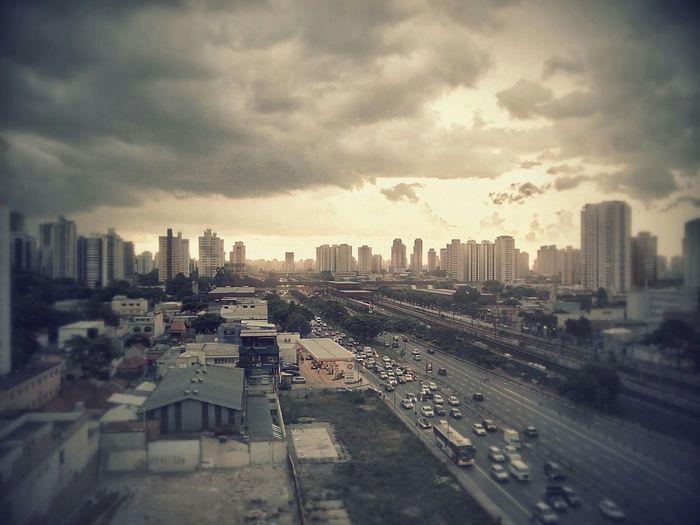 My Country In A Photo Apocalypse Zombie Urban Landscape Fatec Tatuape Mobgraphia São Paulo Brasil Clouds And Sky