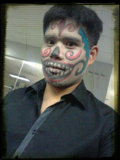 Day of the Dead make up! Diadelosmuertosmakeup
