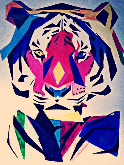 Art Tiger Colors