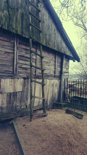 Wood - Material Architecture Building Exterior Built Structure Hut Cottage Deterioration Damaged Bad Condition Stilt House Ruined