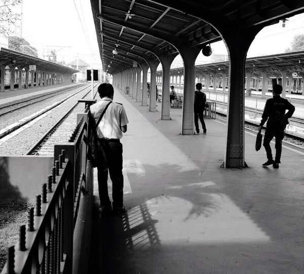 Waiting for nothing Railroad Station Subway Station Bnw_collection Bnwphotography Bnw_life Bnw_shot Streetphotography Streetphoto_bw Streetphotography_bw Streetstyle