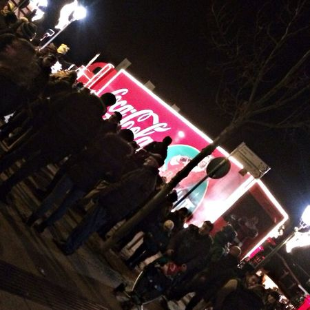 Merry Christmas! Cocacolatruck  to all of you- saw the Coca-Cola Truck in Germany. Christmas can come ??