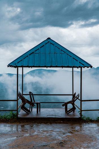 Foggy evening at wayanad ghats
