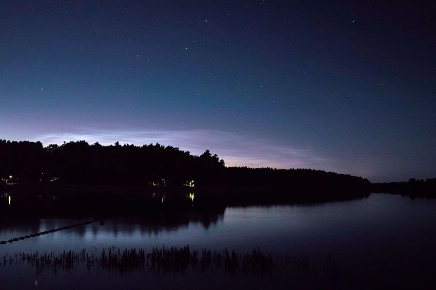 Lake Orzysz Star - Space Night Reflection Nature Astronomy Scenics Sky Star Field Lake Water Silhouette Beauty In Nature Tranquil Scene Tranquility Space Tree Constellation Outdoors No People Galaxy Aurora Poland Mazury