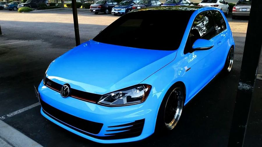 ColorChanging Photoshop VW GTI Mk7 Car Porn