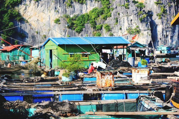 海上漁村 finshing