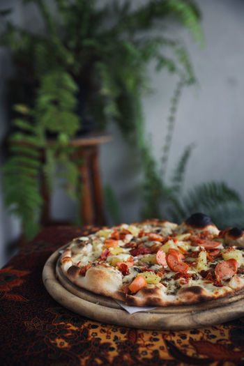 Food And Drink Food Pizza Freshness No People Ready-to-eat Focus On Foreground Italian Food Selective Focus Still Life Table Indoors  Vegetable Close-up Plant Unhealthy Eating Plate Cheese Dairy Product Temptation