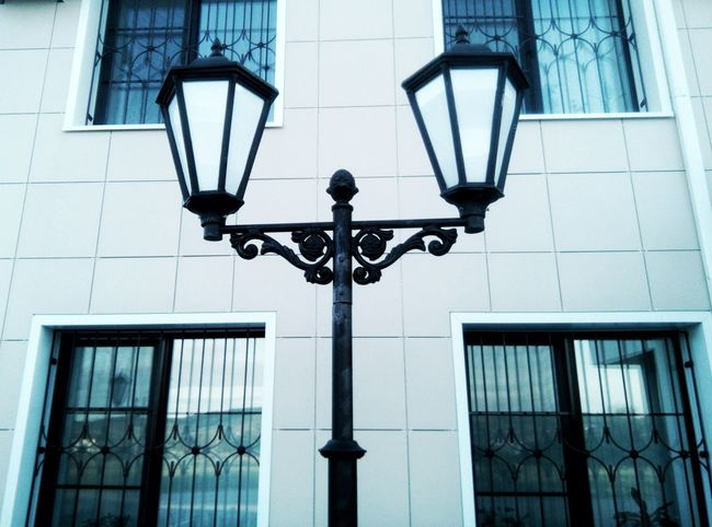 Architecture Building Exterior Low Angle View Built Structure Street Light Day Outdoors No People City Sky