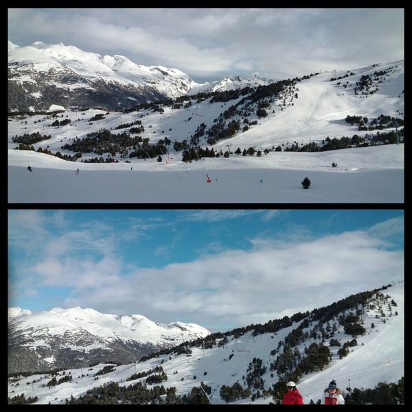 Andorra Encamp Mountain View Skiing ❄
