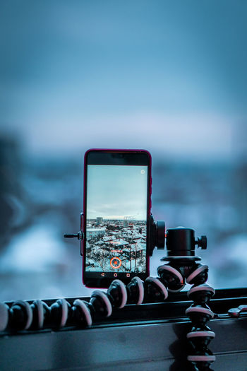 Technology Close-up Communication No People Sky Focus On Foreground Sea Water Connection Wireless Technology Day Nature Outdoors Selective Focus Blue Telephone Smart Phone Architecture Cloud - Sky