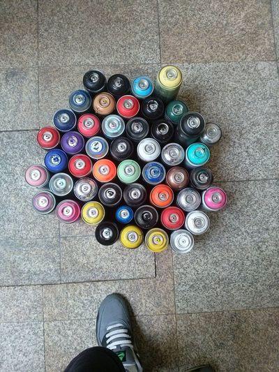 Cans Colorfull Colors Crew Graffiticans Graffitilife Vandal Vandals