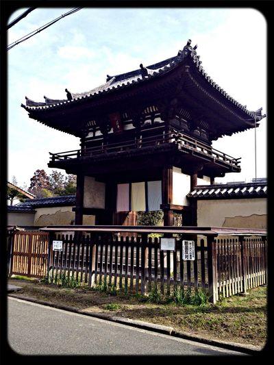 般若寺 楼門(国宝) The Purist (no Edit, No Filter) Taking Photos Temple Gate