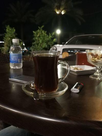 Street City Baghdad Baghdad, Lraq Night Tea Cup Of Tea..