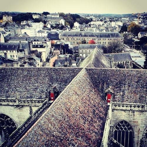 Quimper Cathedrale Toitures @mdpquimper