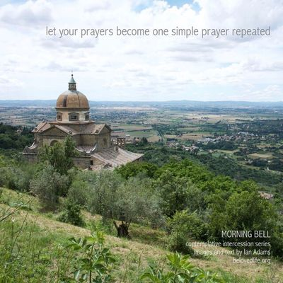 No29 in series 'in our prayers (contemplative intercession)' Stillness Contemplation Prayer Shrine Cortona Church Chiesa