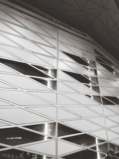 Pulkovo Airport Saint-Petersburg At The Airport Eye4photography  Eye4black&white  Black And White Monochrome Urban Geometry Architecture