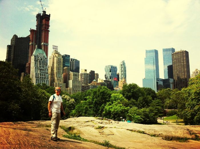 At Central Park - Cat Rock