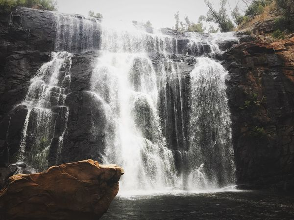 Amazing Mackenzie Fall in Grampian National Park Waterfall Beauty In Nature Travel Destinations Power In Nature Victoria Grampian National Park Hall Gaps Melbourne Australia National Park