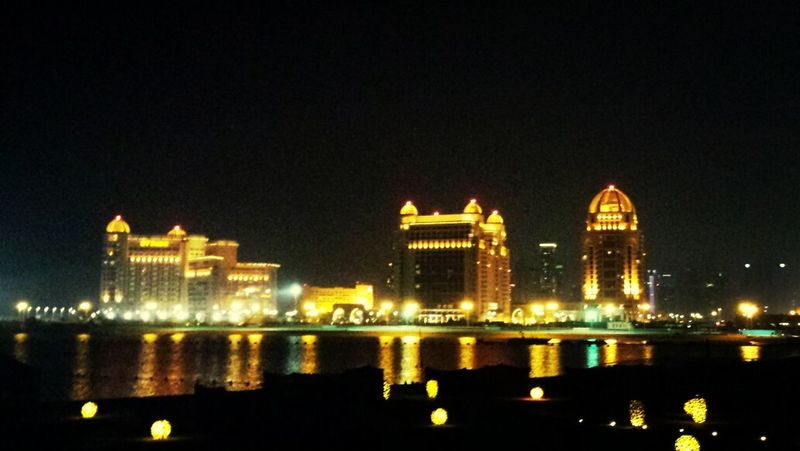I ❤ Qatar Doha#City#❤ Doha Sky Scrapers