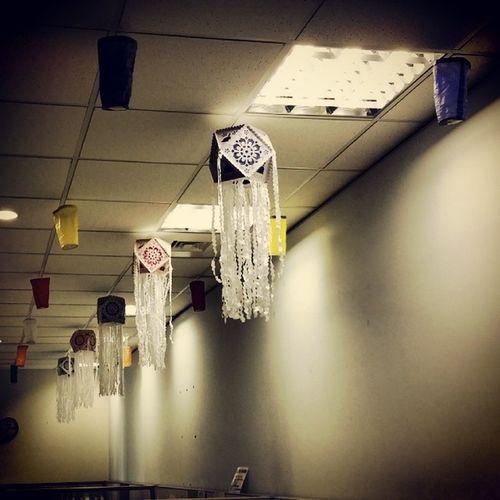 Vesak decorations @ Pearson