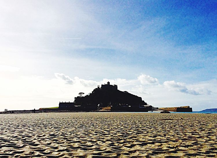 St Michaels Mount St Michaels Mount Sky Architecture Built Structure Building Exterior Sunlight Travel Destinations Outdoors Day Cloud - Sky History No People Nature Water Cornwall Holiday Peaceful Beach Idyllic