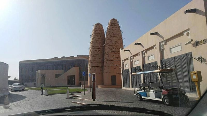 Architecture Built Structure Outdoors City Qatar Qatara Outdoor Photography