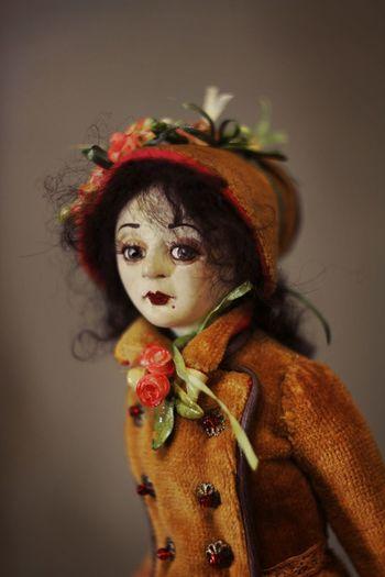 Alena Kropovinskaya's doll Art Handmade Doll