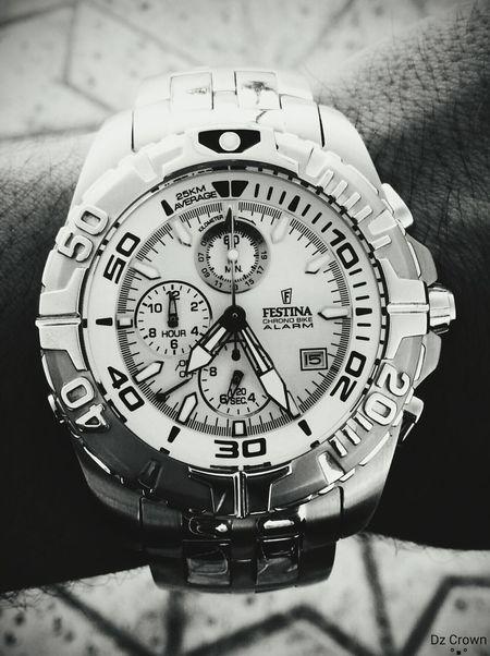 Hi! Hello World My Watch Galaxys3 Black & White Festina My Hobby