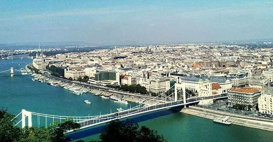 Budapest Buda Pest View Panorama RifateviGliOcchi Amazing Beautiful Hungary Ungheria Danube Danubio Ponte Bridge Travel Viaggi Voyage Uj September Summerend Summer
