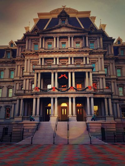 Bedecked Washington DC Architecture My Hometown City City Life Urban Life Government Buildings Festive Season