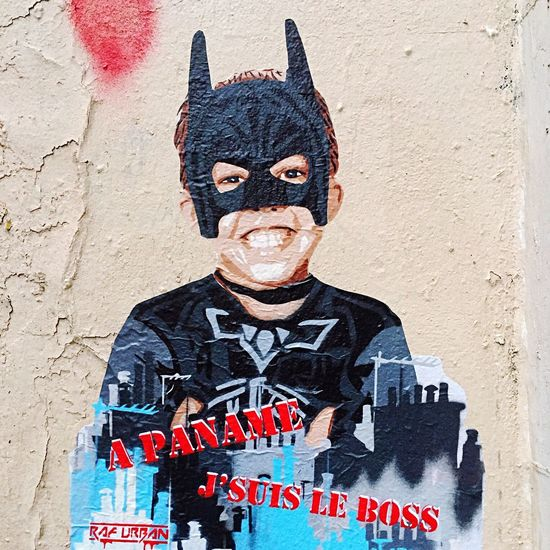 A #paname je suis le boss by @RafUrban #rafurban #streetart #graffiti #graff #spray #bombing #sprayart #wall