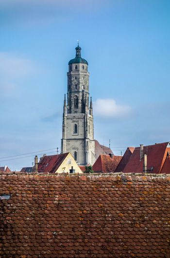 Architecture Astronomical Clock Bayern Germany Building Exterior Built Structure Clock Clock Tower Daniel Day Fortified Wall Germany No People Nördlingen Outdoors Place Of Worship Sky Tower
