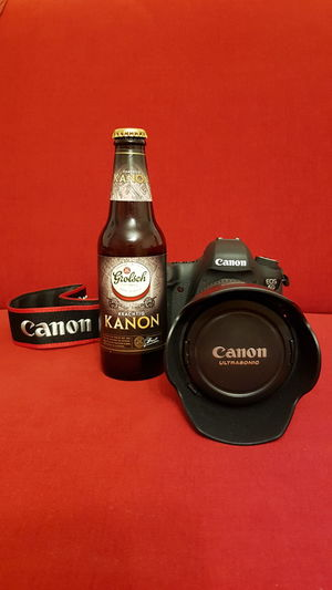 Colored Background Red Background Indoors  Table Red Studio Shot Bottle No People Drinking Glass Drink Close-up Day кэнон пиво Canon Kanon