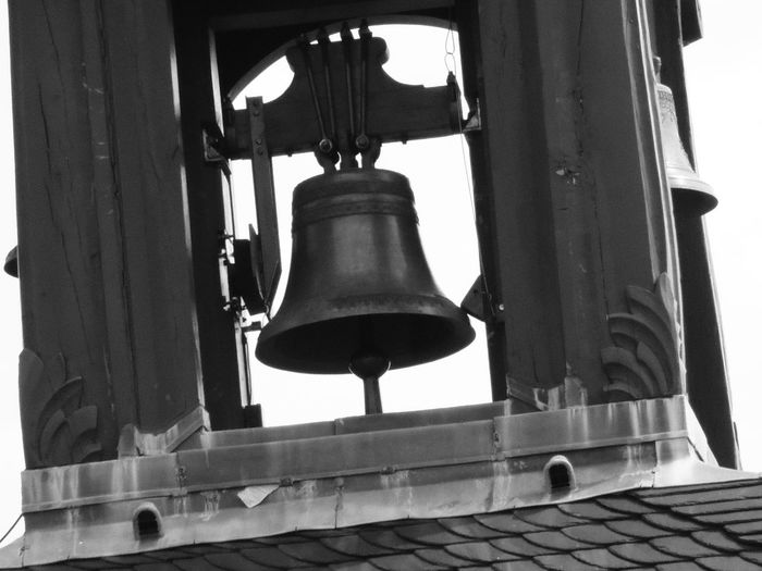 Alsace Alsace France Alsace Life Alsace Streets Alsacefrance Alsacia Alsacienne Alsazia Bell Bell Bell Tower Black & White Black And White Photography Blackandwhite Blackandwhite Photography Blackandwhitephotography Campana Campanario Campanile Close-up Day Electric Light Low Angle View No People Old-fashioned