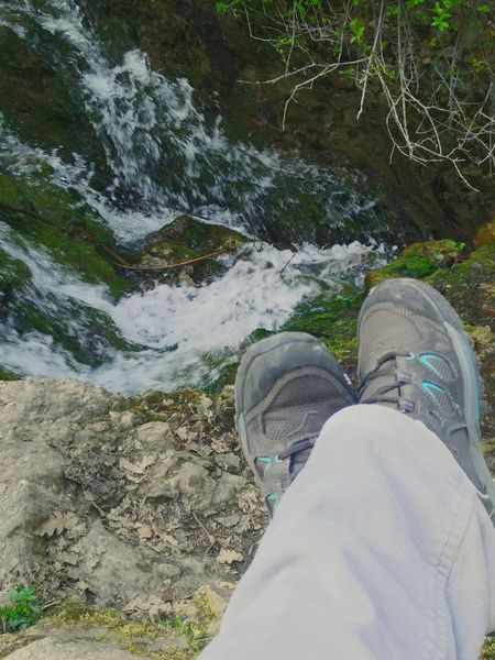 Hiking Waterfall Shoes In The Forest Enjoying Life That's Me Travel Destinations Beauty In Nature Relax Time  Solymár Adventure Club Nature Naturelovers From My Point Of View Hungary