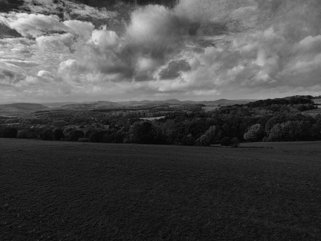 BW_photography Beauty In Nature Bw_collection Bw_lover Cloud - Sky Copter Copterphotography Day Field Landscape Nature No People Outdoors Scenics Sky Tranquil Scene Tranquility Tree Yuneec Breeze