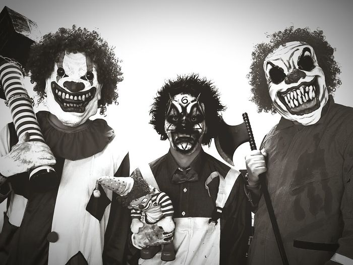 Clownkiller Halloween Horrors Black&white